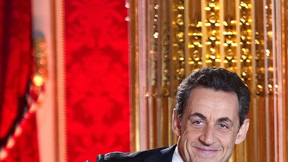 Frankreichs Präsident Sarkozy: Mit drastischen Vorschlägen gegen Wahlkampf-Umfragetief