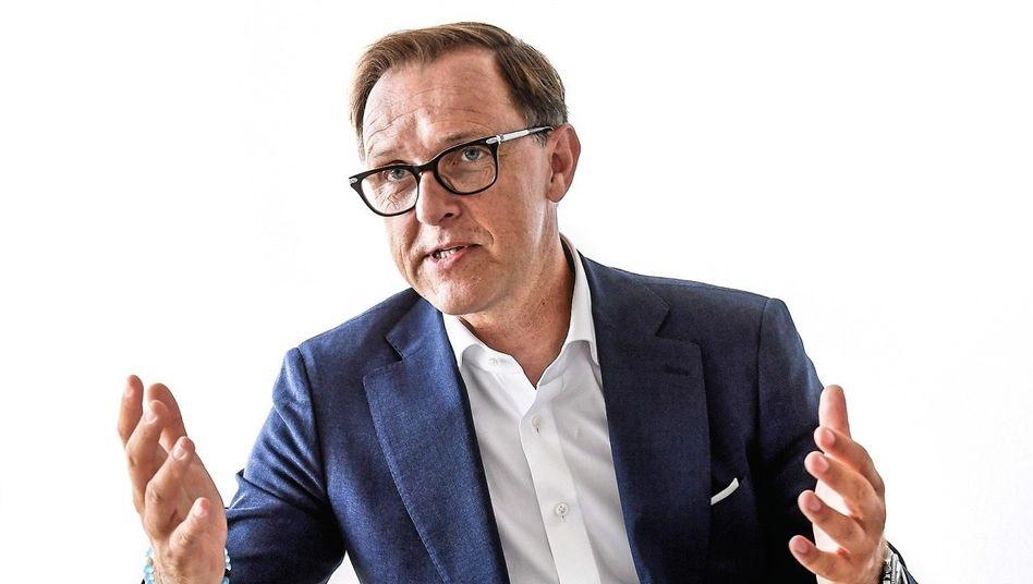 Robochef: Thomas Sedran (54) ist auch Chef von Volkswagen Nutzfahrzeuge