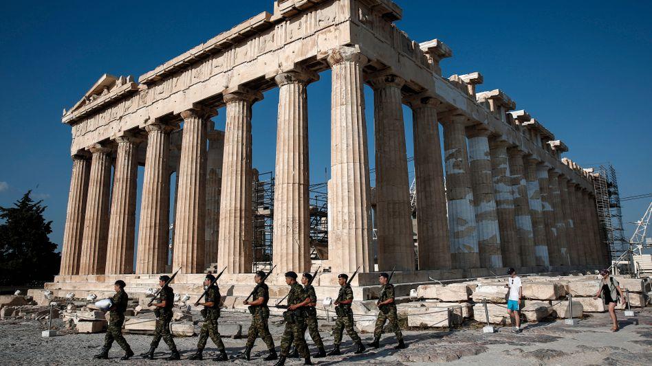 Akropolis in Athen: Griechenland bekommt frisches Geld für seinen Schuldendienst