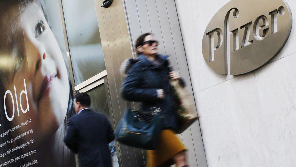 Pfizer-Zentrale: Der weltgrößte Pharmakonzern ist auf Schrumpfkurs