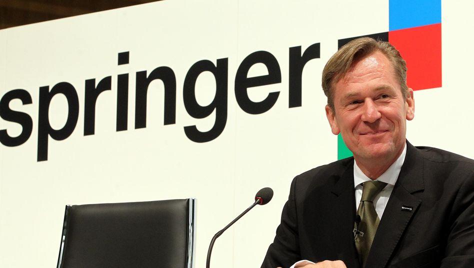 Setzt voll aufs Digital-Geschäft: Springer-Chef Mathias Döpfner