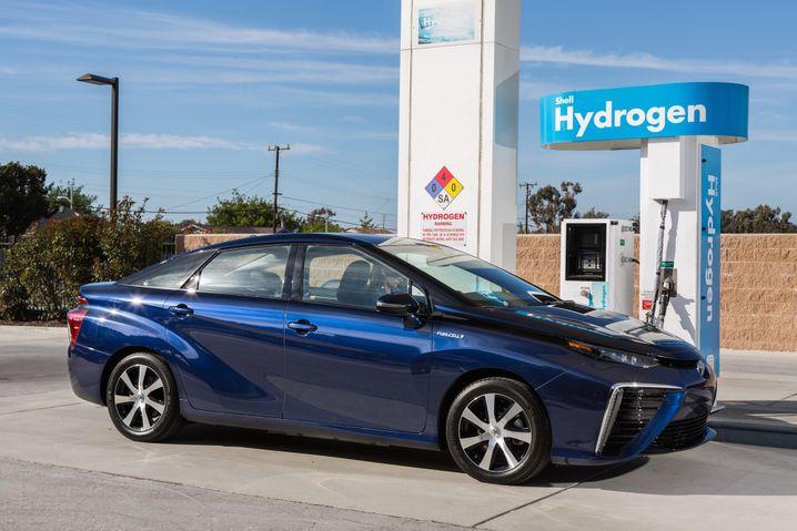 Tanken nicht ganz einfach: Doch Ölmulti Shell will in den kommenden Jahren zahlreiche neue Wasserstofftankstellen in Deutschland bauen