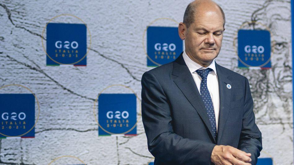 Hat die Ärmel hochgekrempelt: Bundesfinanzminister Olaf Scholz arbeitet seit Jahren an der Umsetzung der globalen Steuerreform