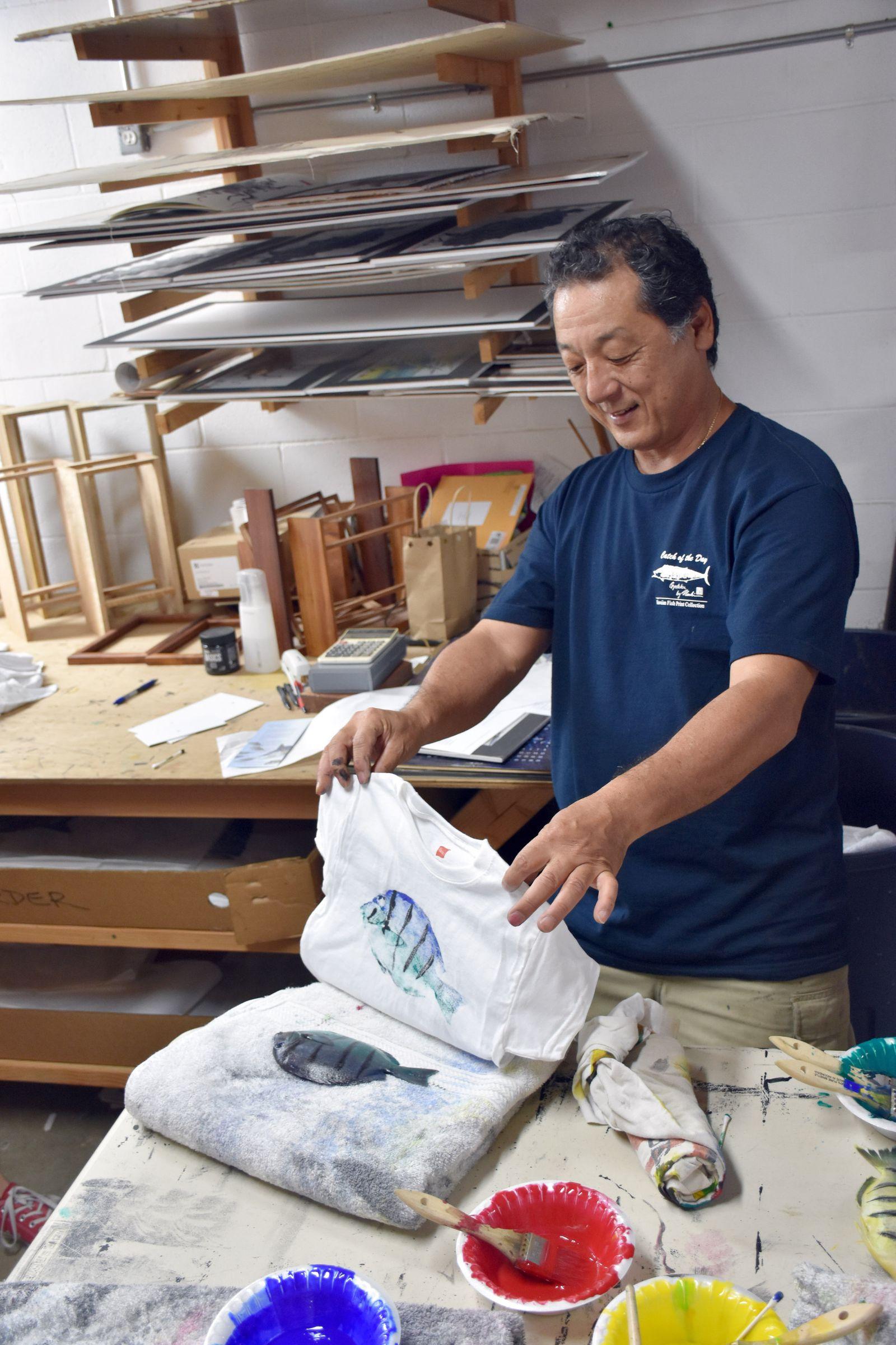 Hawaiianer macht Kunst aus Essbarem