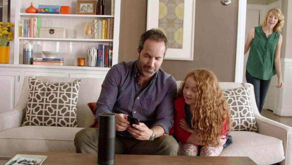 Amazon Echo auf dem Wohnzimmertisch: Die Comdirect will von Alexa künftig Realtime-Aktienkurse ansagen lassen