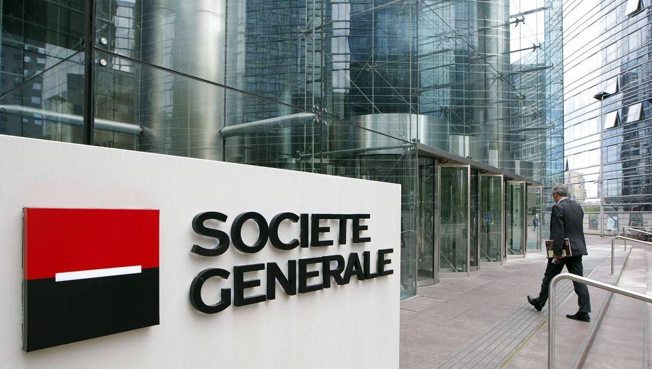 Gewinneinbruch: Die SocGen verdiente im vierten Quartal nur noch 100 Millionen Euro