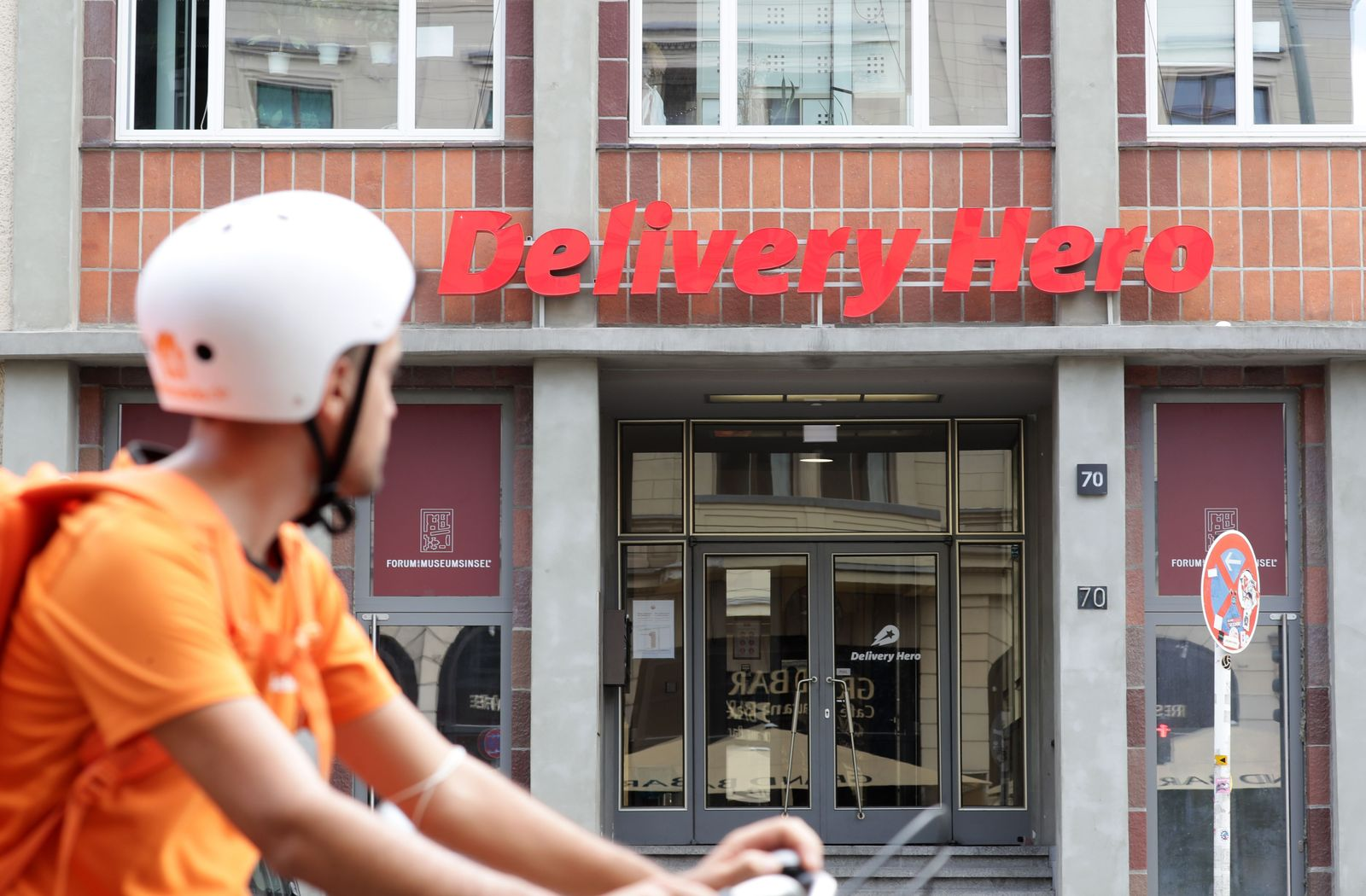 Delivery Here, Berlin, Germany - 20 Aug 2020