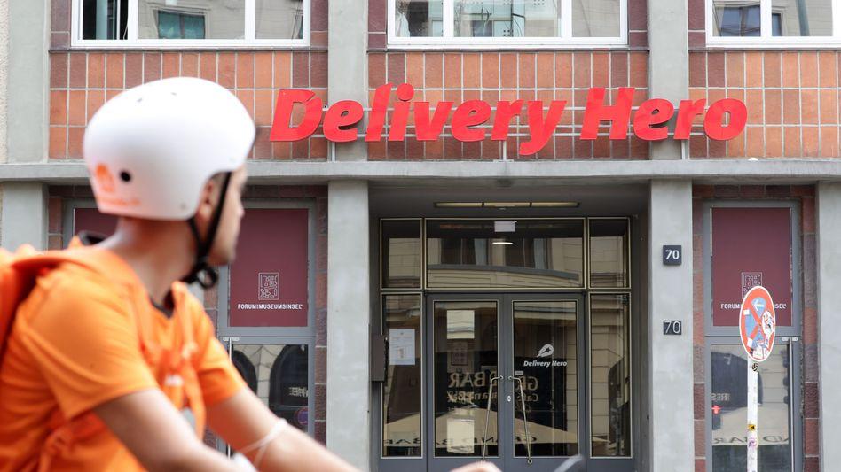 Wartet auf große Lieferung vom Kapitalmarkt: Der Lieferdienst Delivery Hero begibt eine milliardenschwere Wandelanleihe