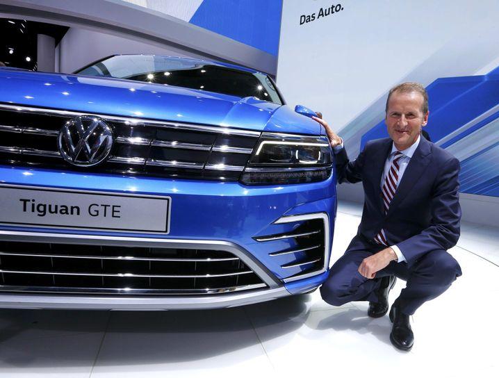Kam von BMW und ist noch nicht lange im Amt: Jetzt muss VW-Markenchef Herbert Diess zum Krisen-Rapport nach Brüssel