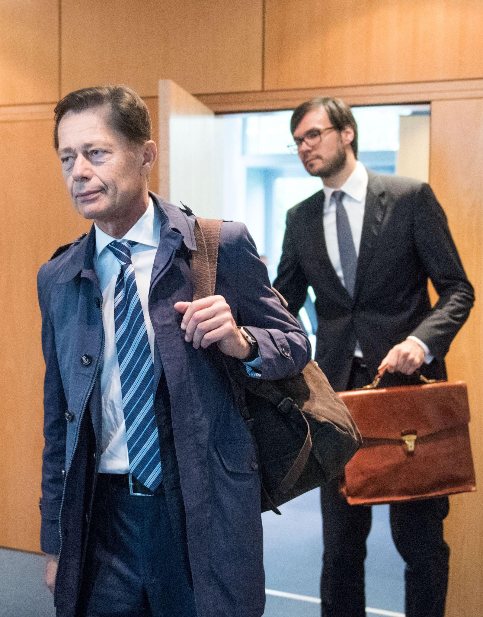 Oberlandesgericht hört Zeuge Middelhoff