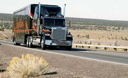 Soll haften: Die Lkw-Tochter Freightliner des Konzerns DaimlerChrysler