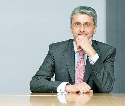Rupert Stadler (44) ist seit Jahresbeginn Vorstandsvorsitzender von Audi. Er folgte Martin Winterkorn, der an die Spitze der Konzernmutter Volkswagen befördert wurde. Für Audi arbeitet der Betriebswirt Stadler seit 1990, zunächst im Controlling. Seit 2003 ist er Vorstandsmitglied.