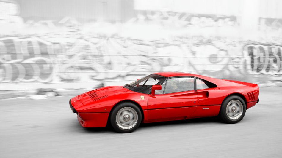 Begehrt auch bei Leuten, die ihn sich nicht leisten können: Ein solcher Ferrari 288 GTO wurde bei Neuss auf besonders dreiste Weise gestohlen - und ist jetzt wieder aufgetaucht