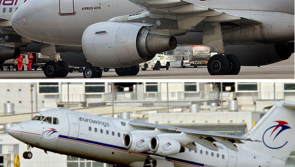 Eurowings hebt ab: Lufthansa wird unter dem Label die Billigflugaktivitäten ausbauen