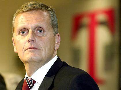 Doppelfunktion für den Neuen: Telekom-Chef Ricke