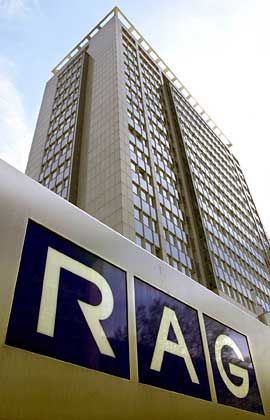 Milliardenschwere Erblasten: RAG-Zentrale in Essen