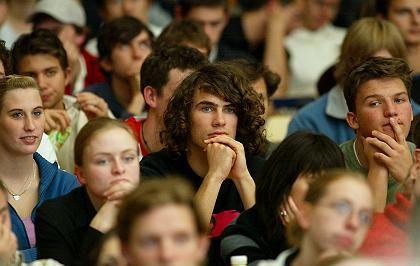 Volle Hörsäle: Hochschulen droht eine Studentenlawine