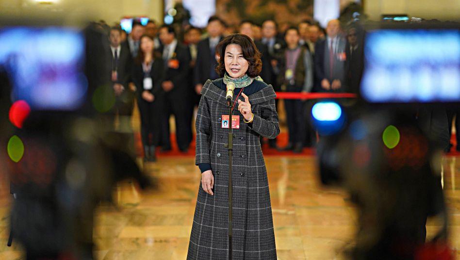 Vorbild für Karrierefrauen in China: Unternehmerin Dong Mingzhu.