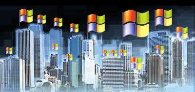 Umfassende PC-Versorgung: Weltmarktführer Microsoft hat wegen Monopolstrafen eine Rekordsumme nach Brüssel überwiesen