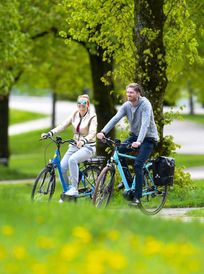 E-Bike-Boom: Die Fahrräder mit elektrischer Tretunterstützung finden immer mehr Fans.