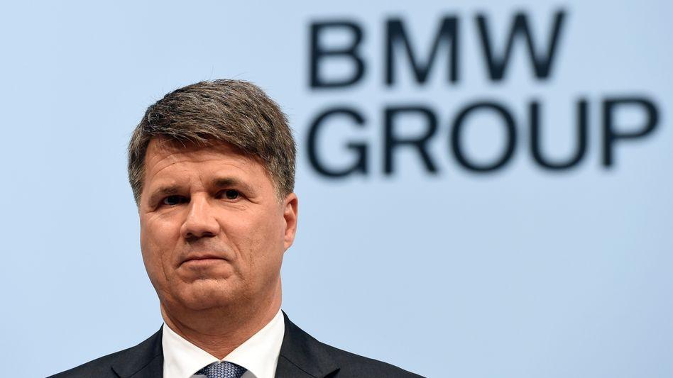 BMW-Chef Harald Krüger: Kampfansage an Mercedes