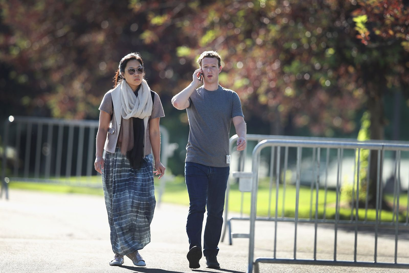 Mark Zuckerberg / Priscilla Chan