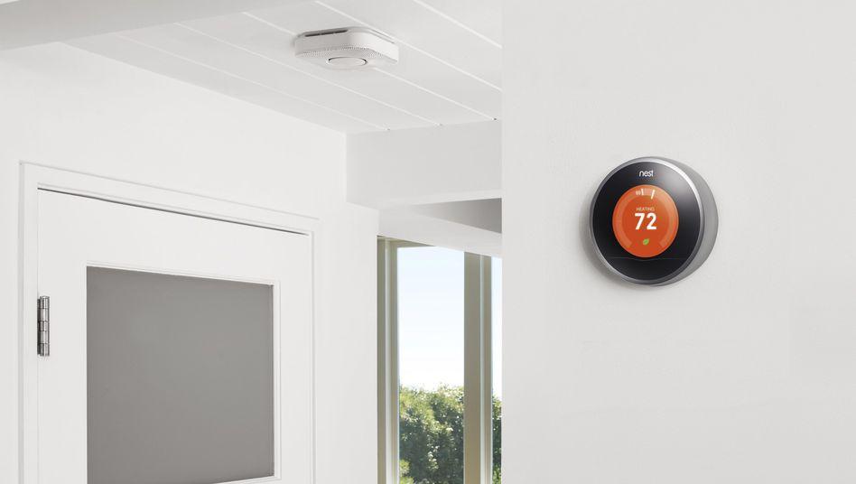 """Thermostat der Alphabet-Tochter Nest: """"Wir wollen die Datenhoheit in den Häusern behalten"""""""