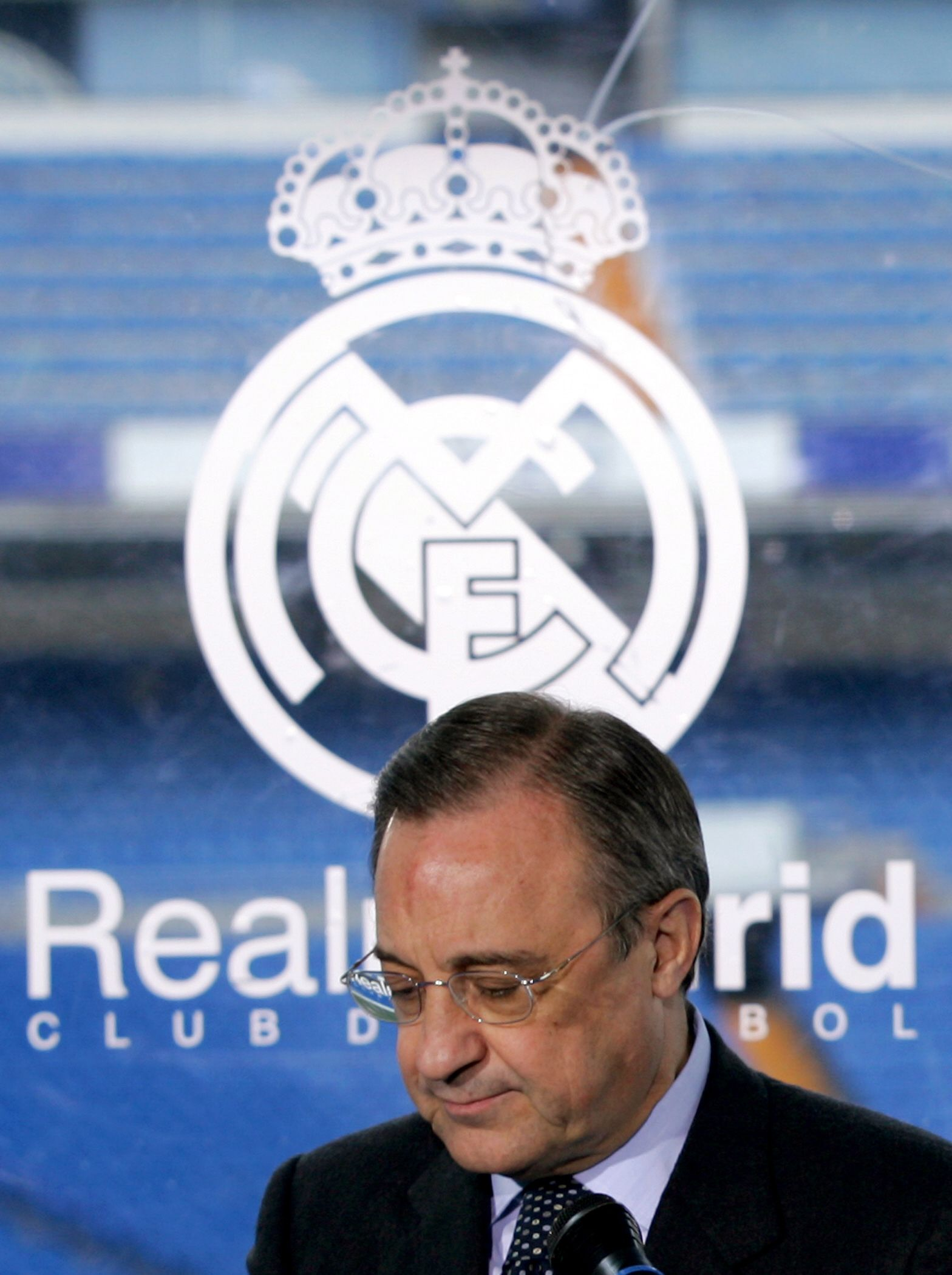 FILES-FBL-SPAIN-REAL MADRID-PEREZ