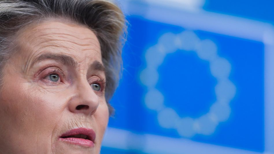 Schwache Zentrale: EU-Kommissionspräsidentin Ursula von der Leyen hat nicht viel Macht und wenig Geld