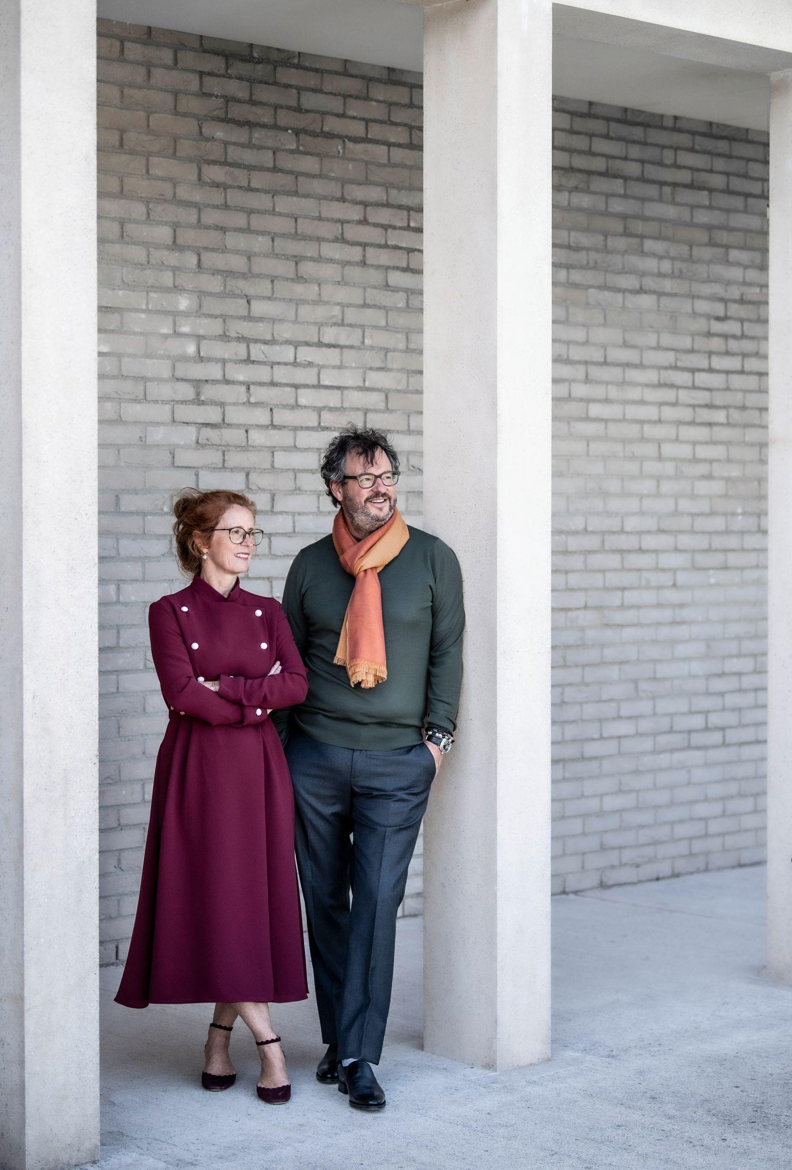 Iwan Wirth and Manuela Wirth