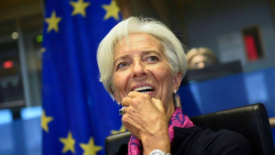 Christine Lagarde: Die bisherige IWF-Chefin ist mit 394 zu 206 Stimmen zur neuen Präsidentin der EZB gewählt worden