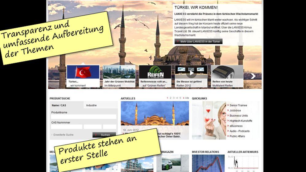 Ranking: Die besten Unternehmens-Websites