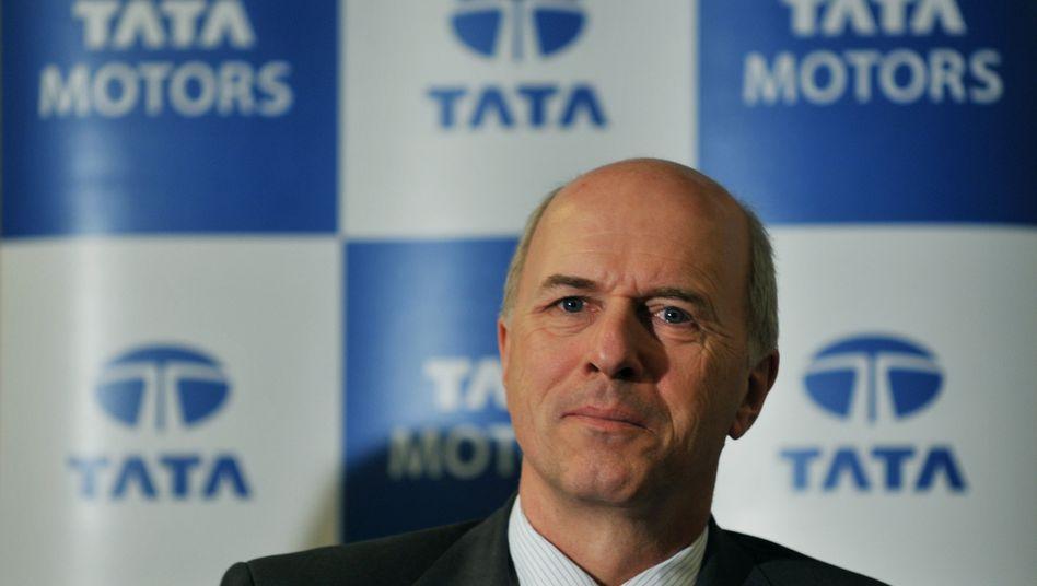 Hat den Profit des Autobauers Tata gesteigert: Carl-Peter Forster