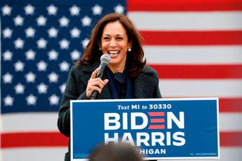 Künftige US-Vizepräsidentin: Kamala Harris
