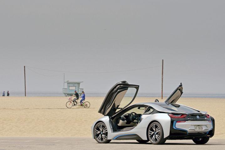 BMW i8: Unauffällig ist der bayerische Hybrid-Sportwagen eher nicht