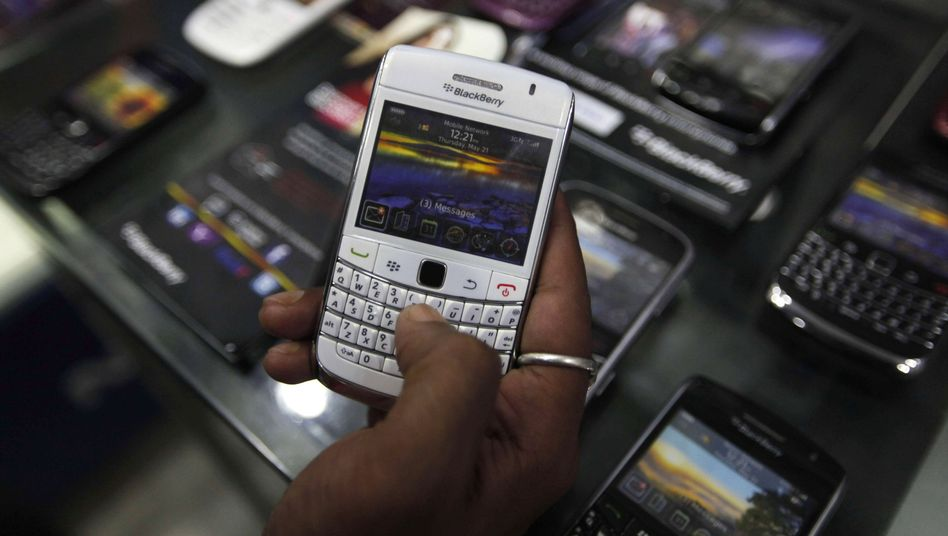Weltweit unter Druck: Research in Motion rechnet mit weniger Blackberry-Verkäufen