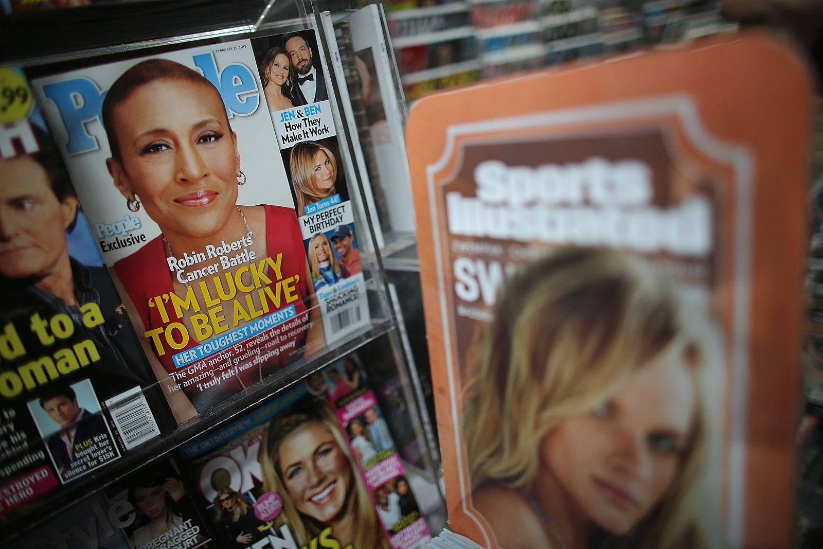 Time Warner / Magazine / Zeitschriften