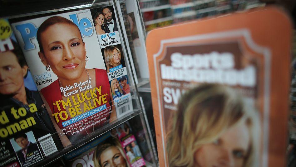 Time-Warner-Zeitschriftensparte: Demnächst als eigenständiges Unternehmen an der Börse