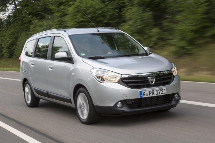 Der aktuell günstigste Van: Der Dacia Lodgy ab 9990 Euro