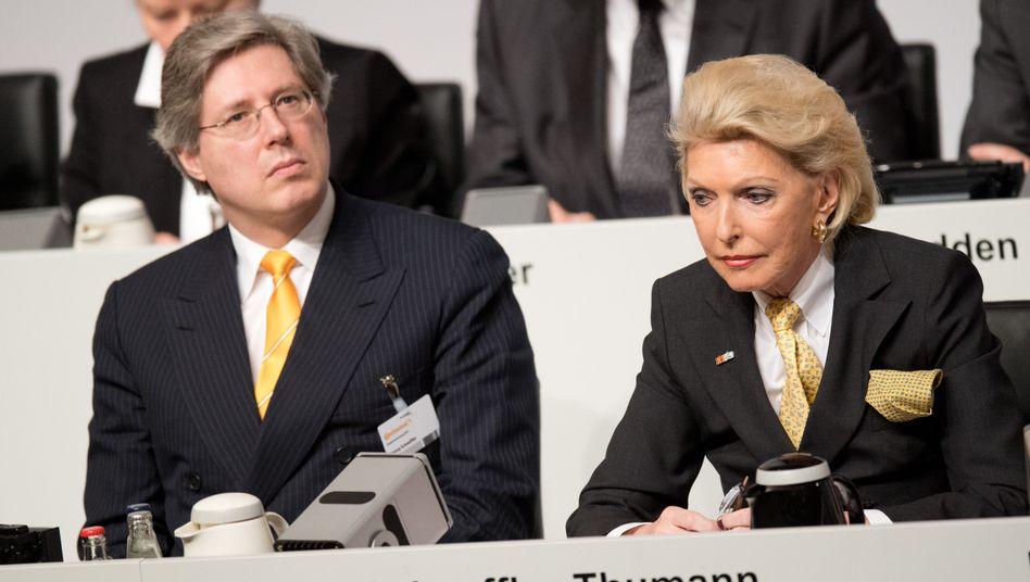 Nur noch Platz 6 in der Reichsten-Liste: Georg F. W. Schaeffler und Maria-Elisabeth Schaeffler-Thumann