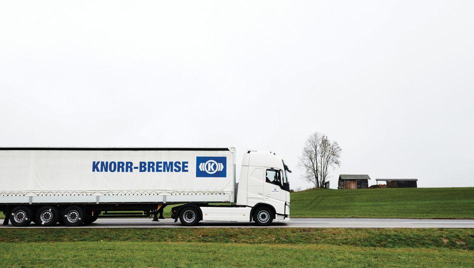 Knorr-Bremse rechnet mit schwierigem zweiten Quartal