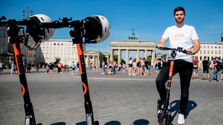 Legale Leihroller: Diese Scooter-Dienste sind in Deutschland am Start