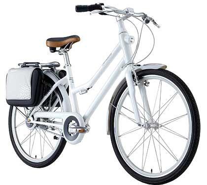 """Designrad: Als """"iPod unter den Fahrrädern"""" preist Hersteller Giant sein """"Citystrom""""-Rad an"""