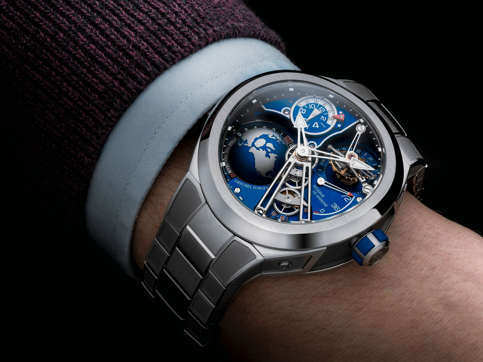 SIHH | Watches and Wonders | Greubel Forsey GMT Sport