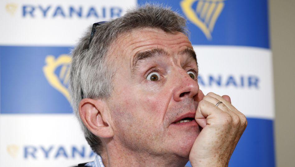 Desaster für Ryanair-Chef Michael OLeary: