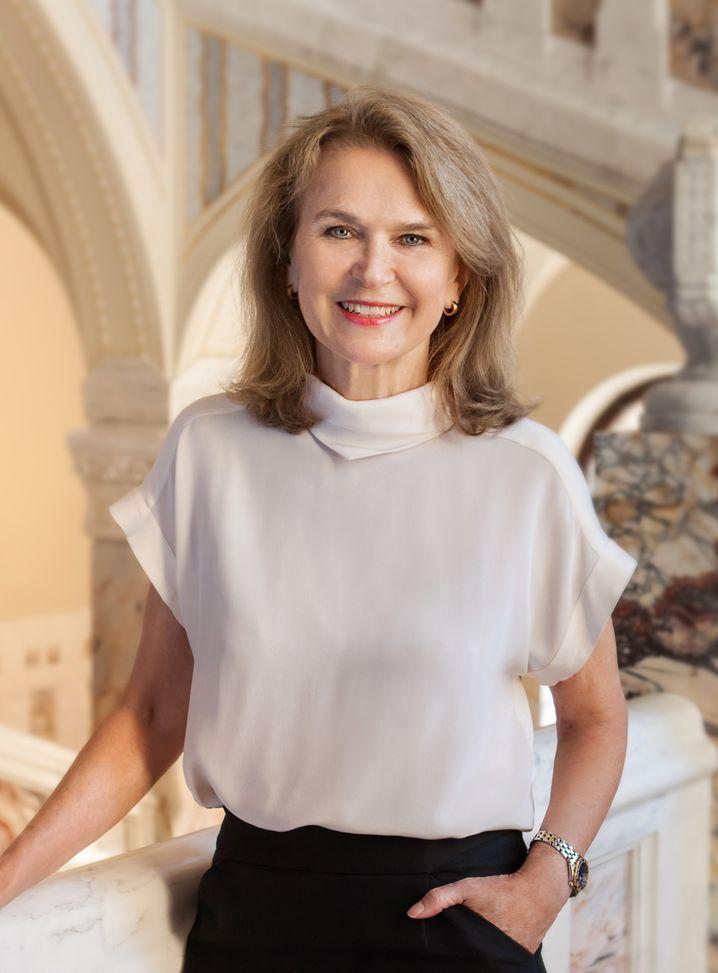 First Lady: Gräfin Mary von Faber-Castell hat Angst, ihre Vormachtstellung zu verlieren.