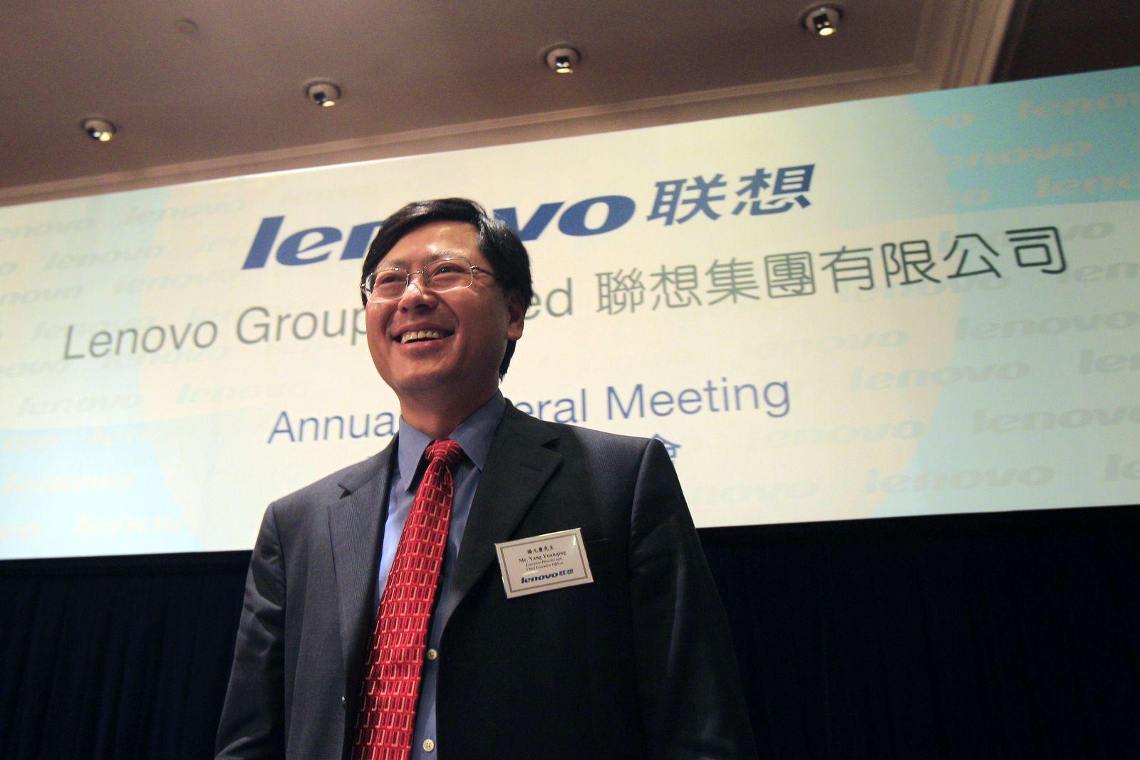 Yang Yuanqing / Lenovo / Logo