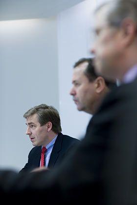 Freund klarer Worte: UBS-Stratege Wellershoff (l.)
