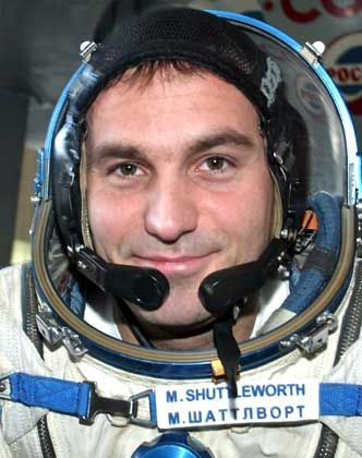 Promi-Astronaut: Mark Shuttleworth