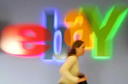 Zieht wieder kräftig an: Gewinn und Umsatz des Online-Auktionshauses Ebay sind im zweiten Quartal deutlich angezogen